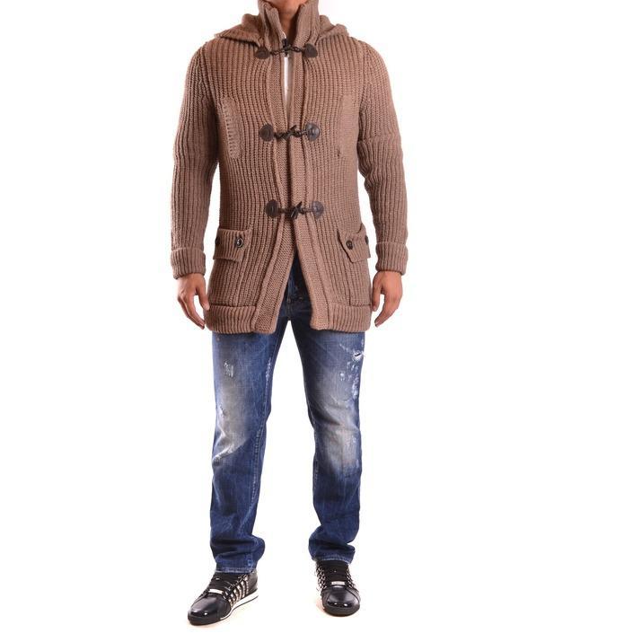 Dsquared Men's Cardigan Brown 162035 - brown M