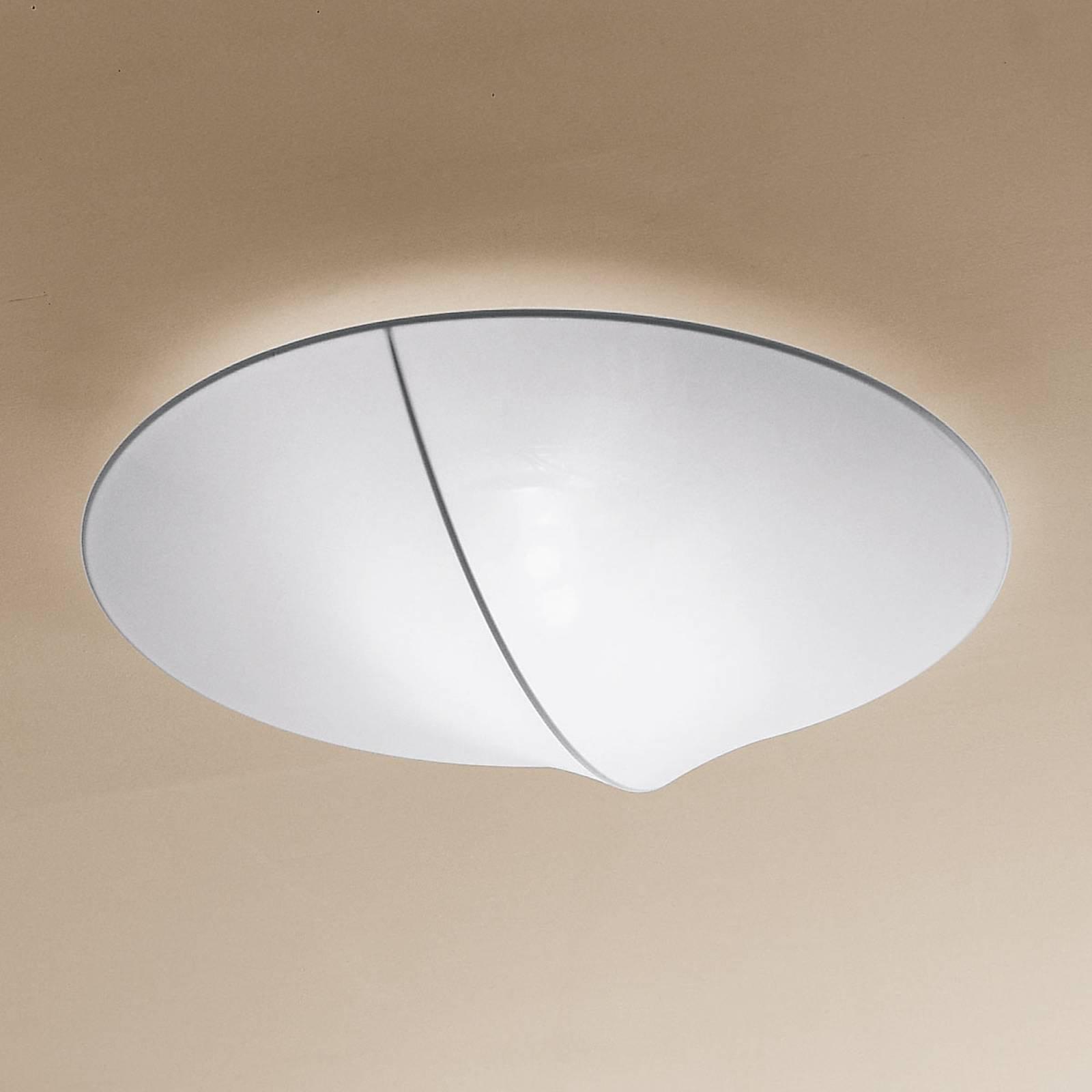 Axolight Nelly tekstil-taklampe hvit 60 cm