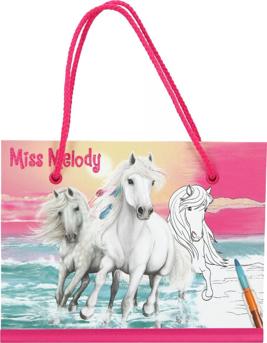 Miss Melody Målarbok Med Flerfärgspenna