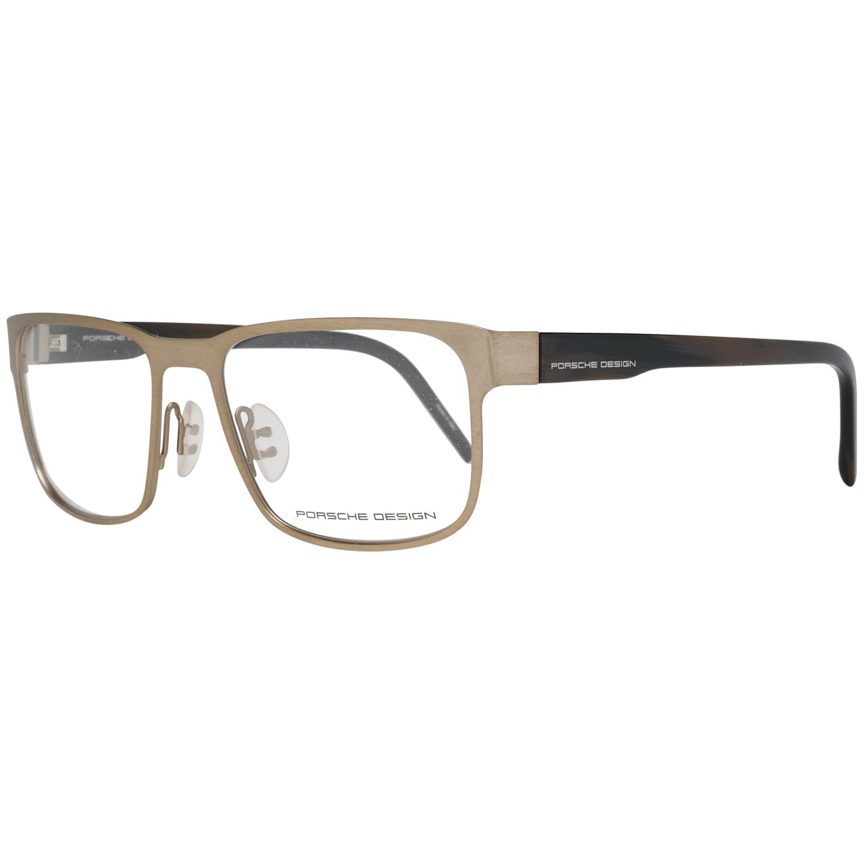 Porsche Design Men's Optical Frames Eyewear Gold P8291 55D