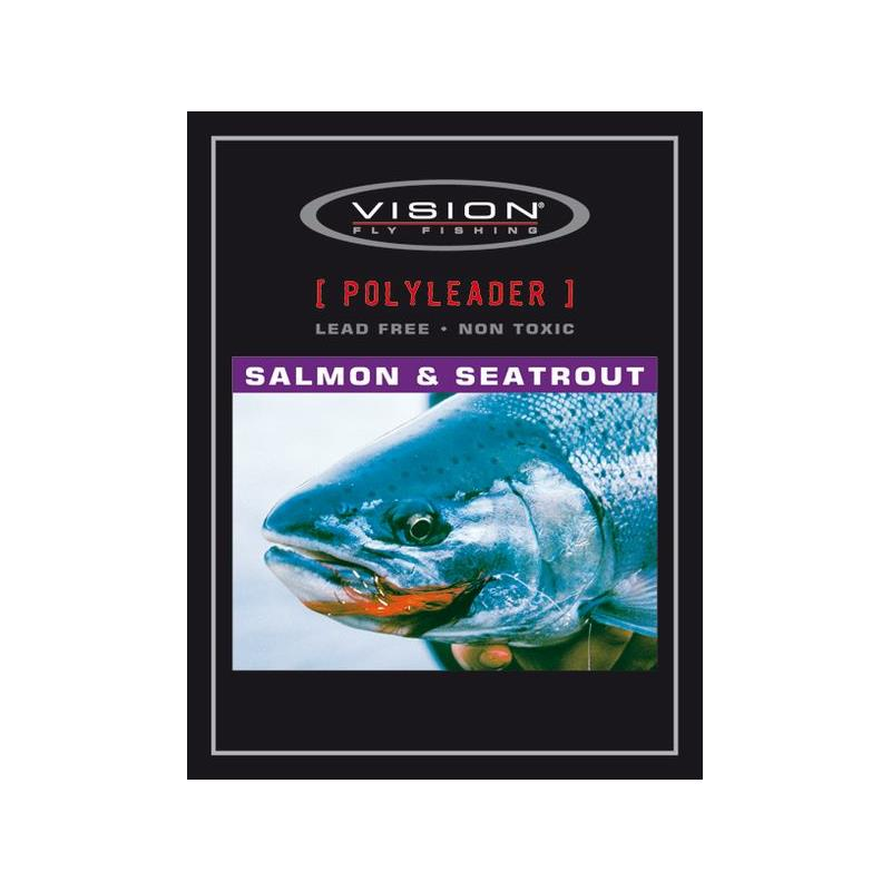 Vision Salmon & Seatrout Polyleader 10' Fast Sink