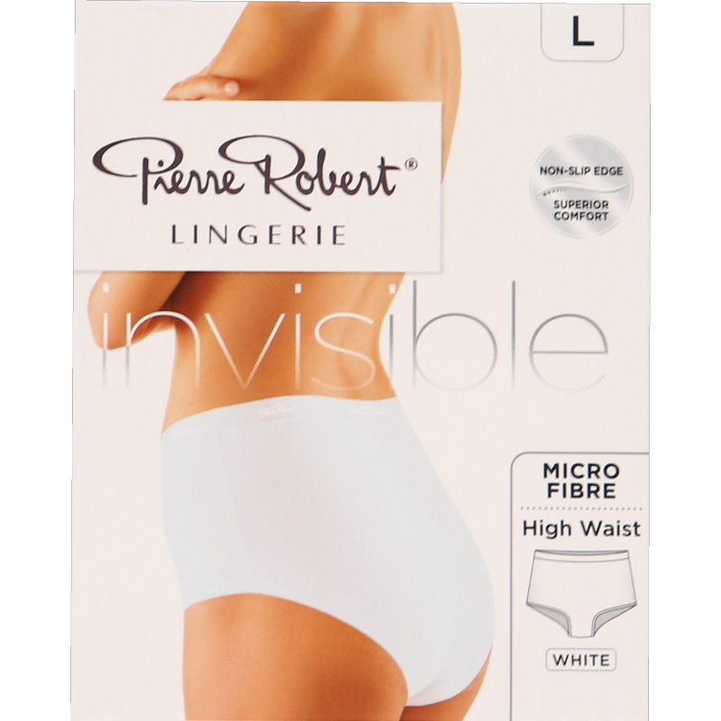 Invisible High Waist Alushousut Valkoinen Koko L - 77% alennus
