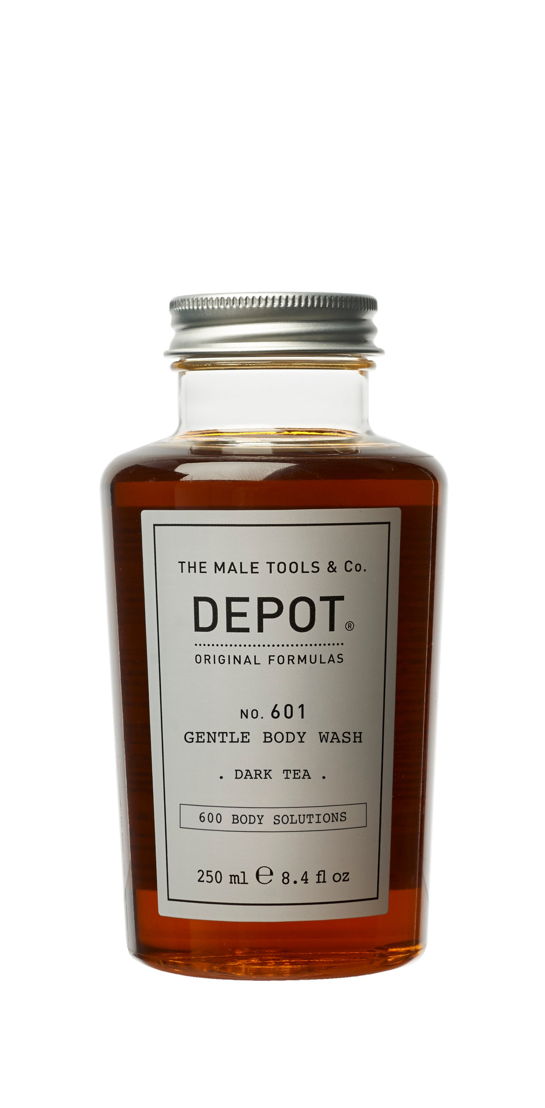 Depot - No. 601 Gentle Body Wash Dark Tea 250 ml