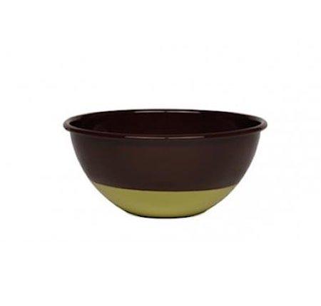 Skål Chocolate/Pistaschio Ø 22 cm