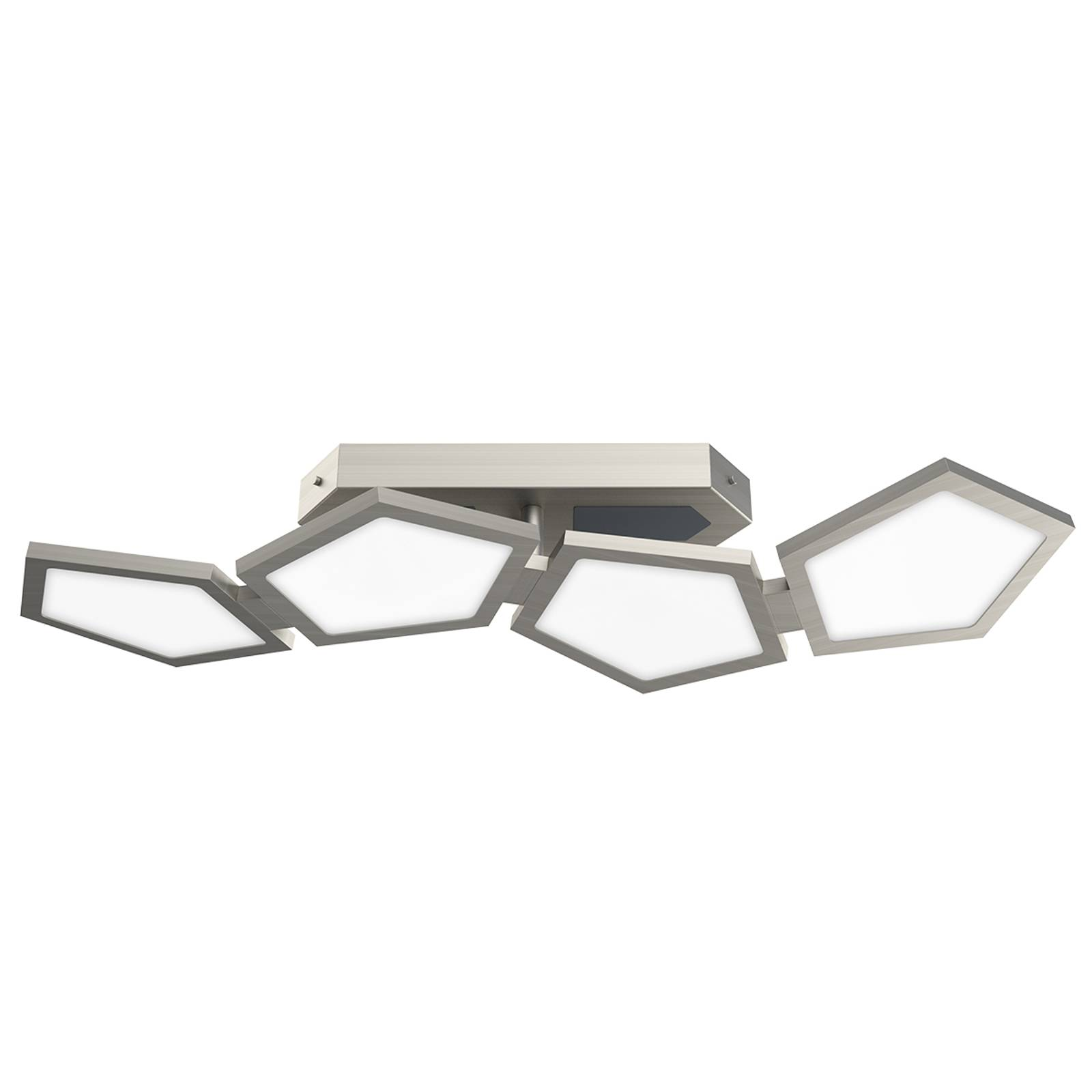 Tehokas Poly-LED-kattovalaisin, kauko-ohjaus