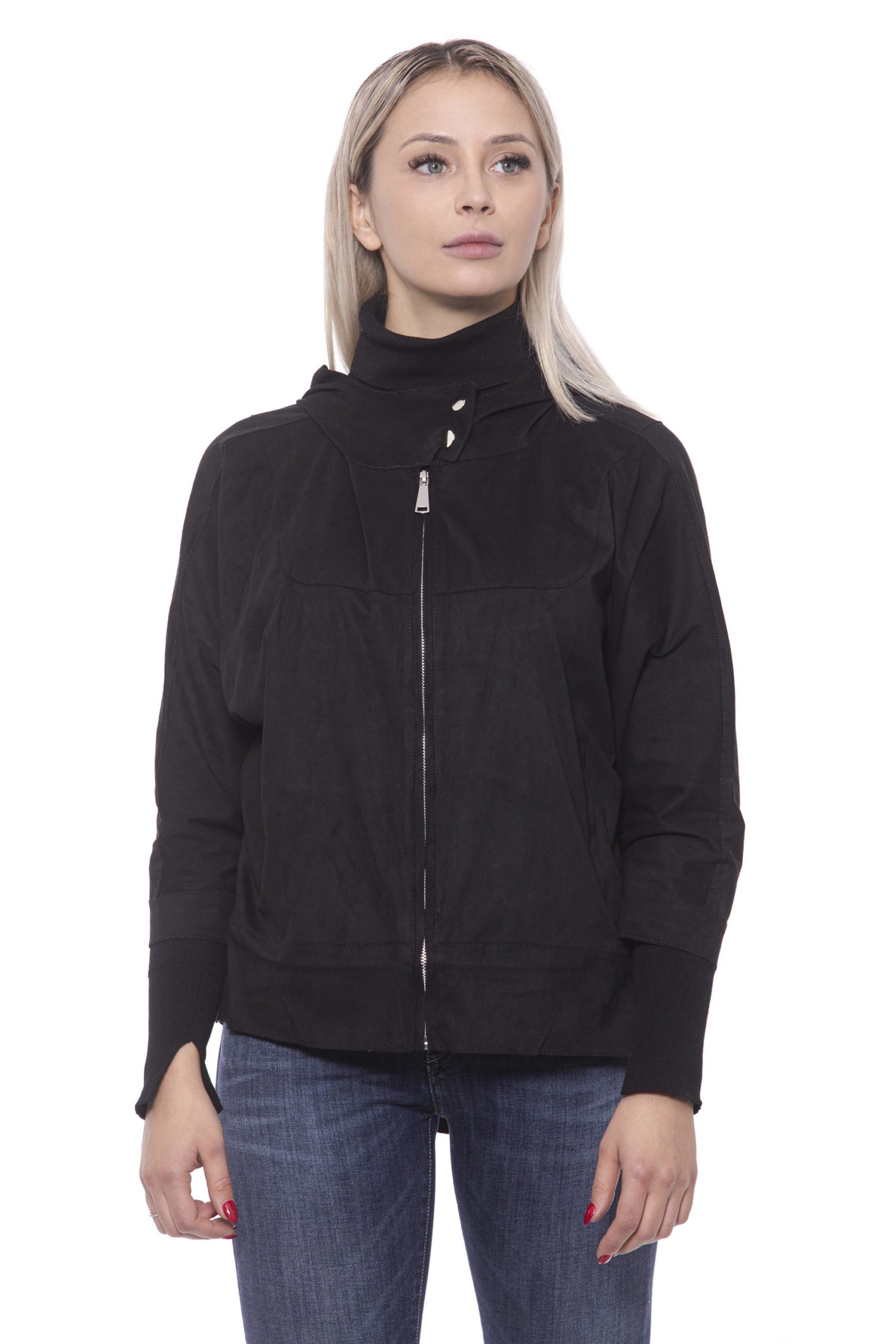 19V69 Italia Women's Nero Jacket 191388481 - IT42 | S