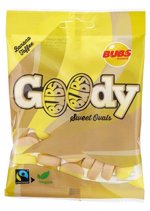 BUBS Goody Banana Toffee 90g