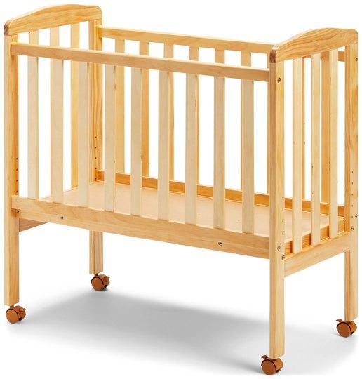 JLY Dream Bedside Crib, Natur
