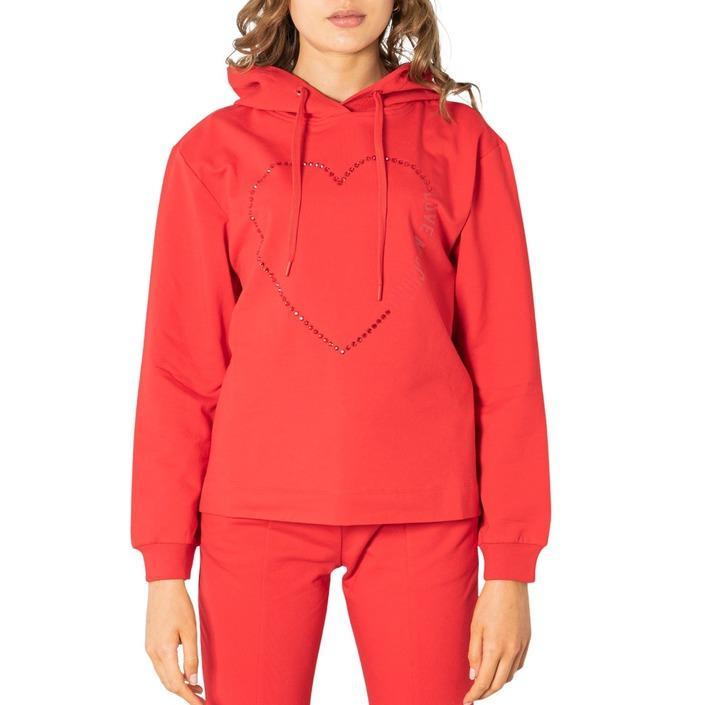 Love Moschino Women's Sweatshirts Red 321317 - red 38