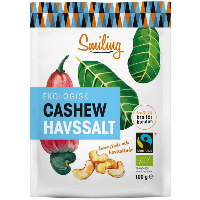 Eko Cashewnötter Havssalt - 28% rabatt