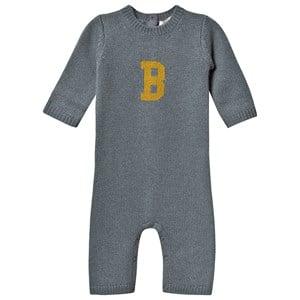 Bonpoint B Onesie Blå 1 month