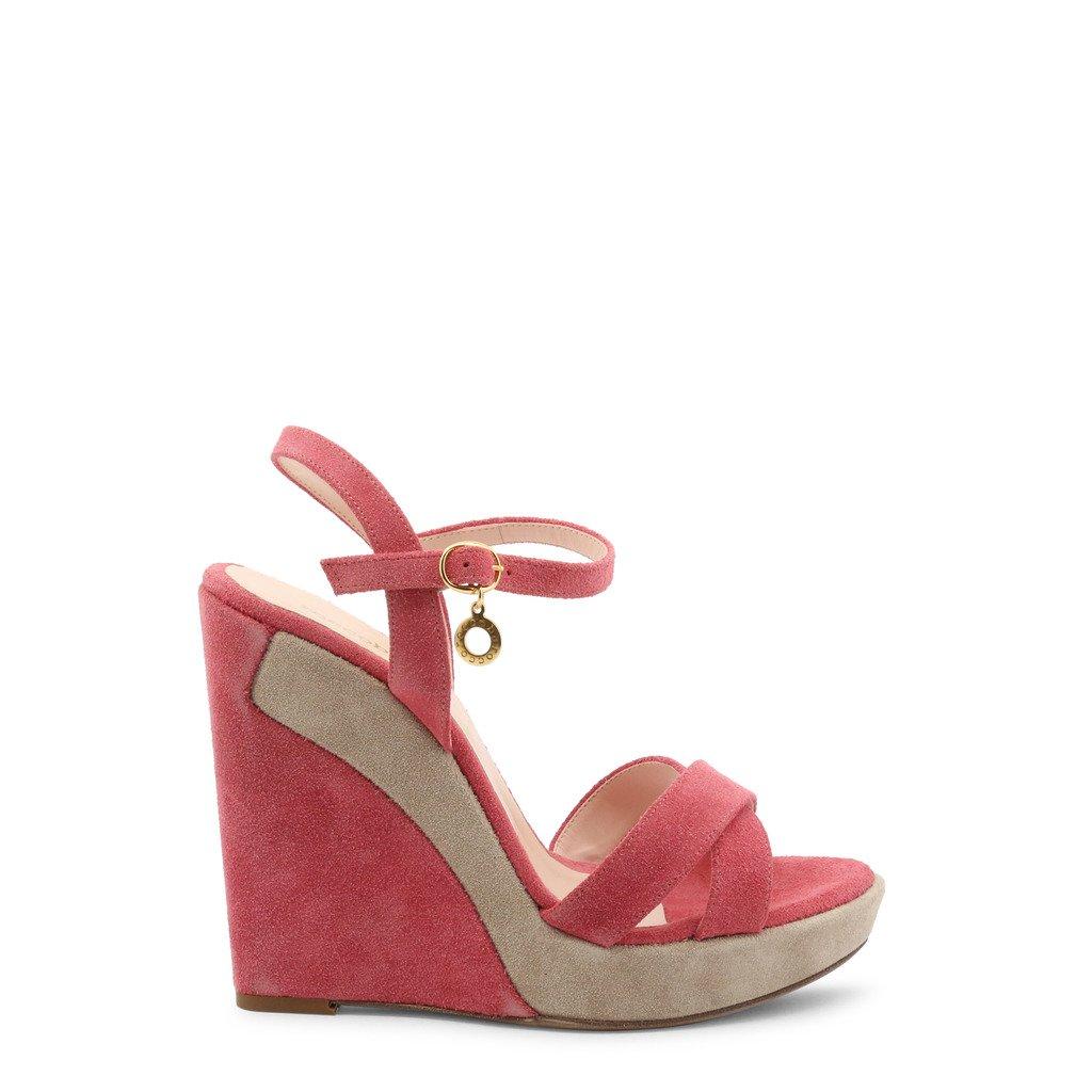 Roccobarocco Women's Wedges Shoe Pink 342709 - pink EU 39