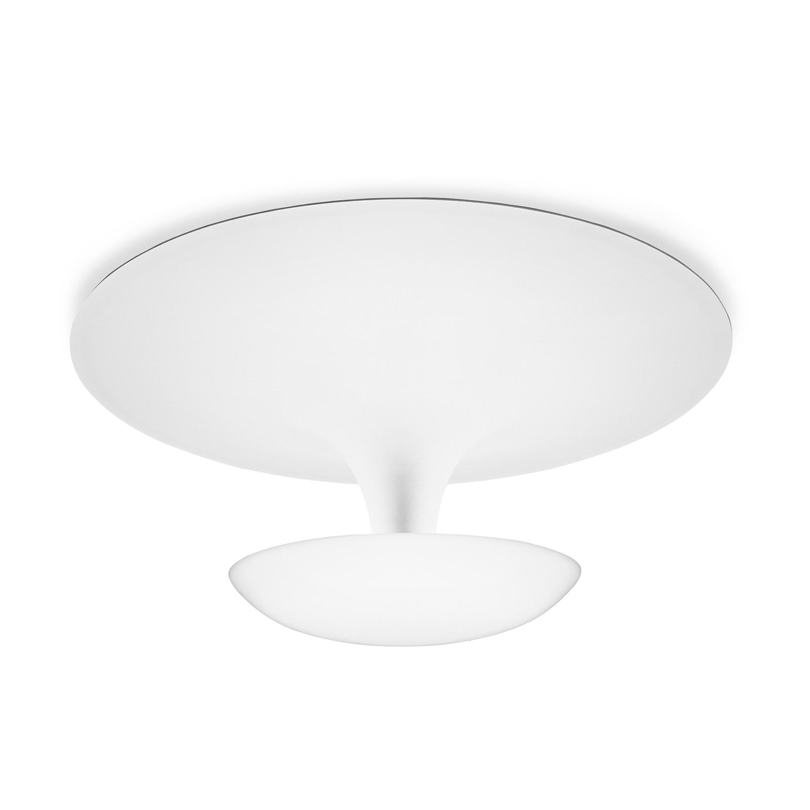 Vibia Funnel kattovalaisin 35 cm, matta valkoinen