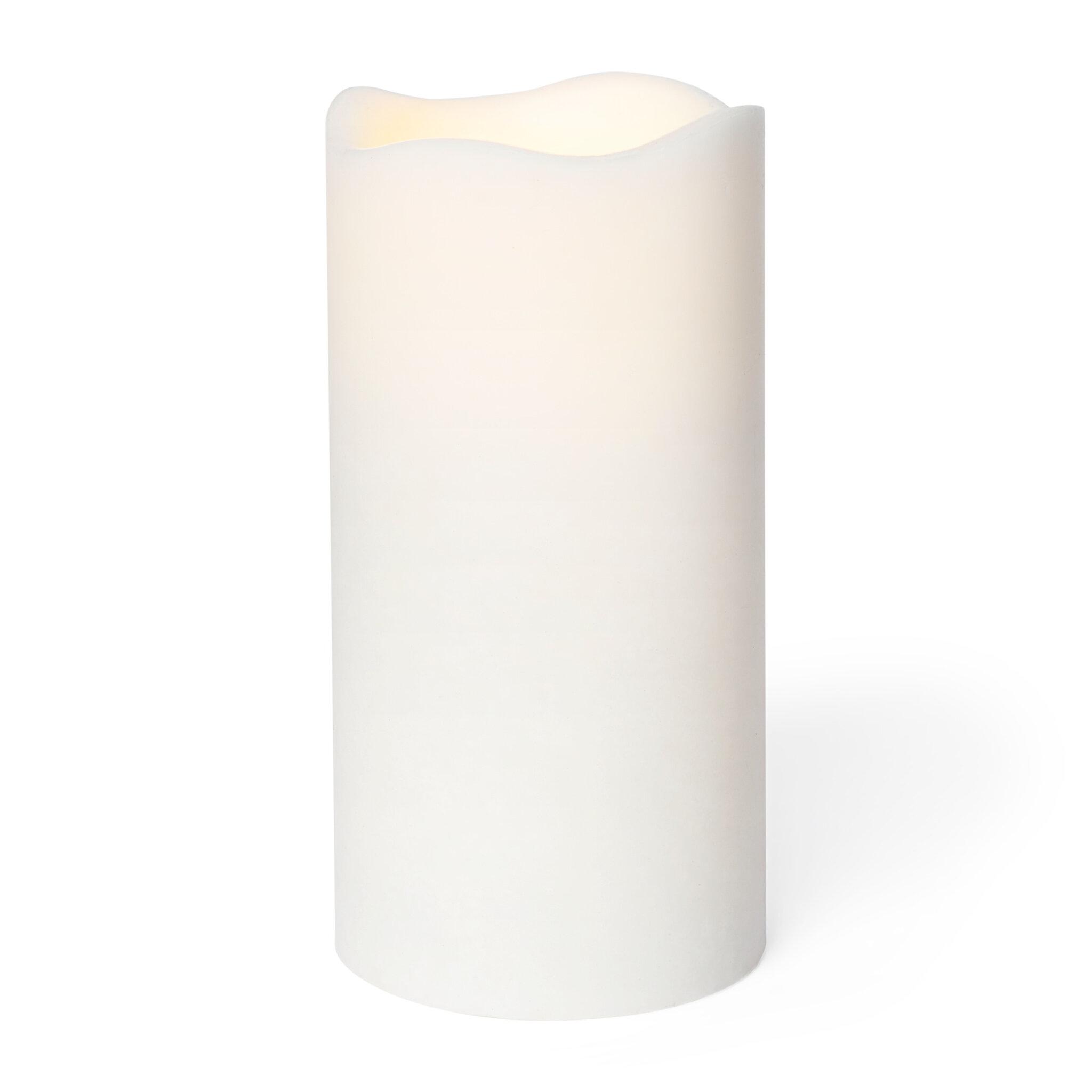 LED blockljus L 15x7,5 cm