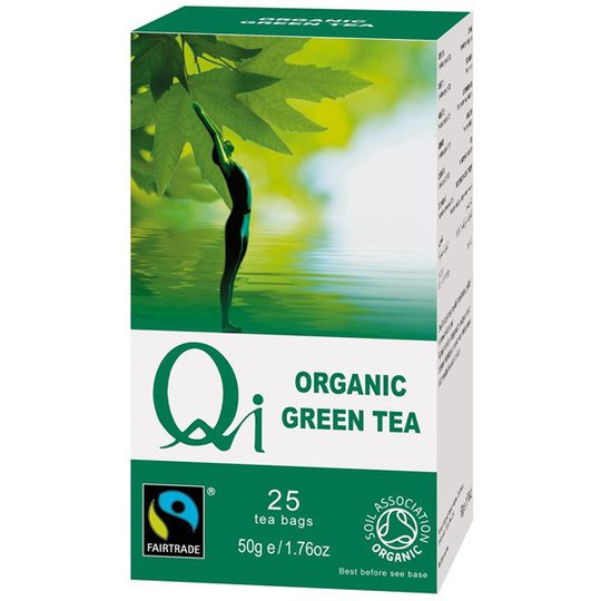Qi Teas Grönt Te, 25 påsar