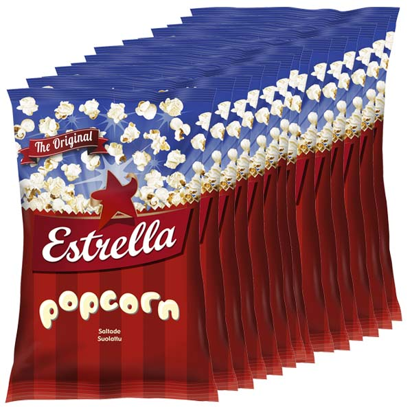Estrella Popcorn 65g x 15 st