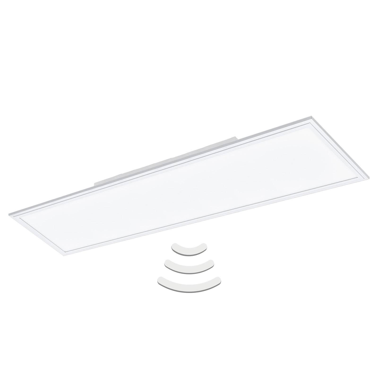 LED-kattovalaisin Salobrena-M 119,5x29,5 cm Sensor