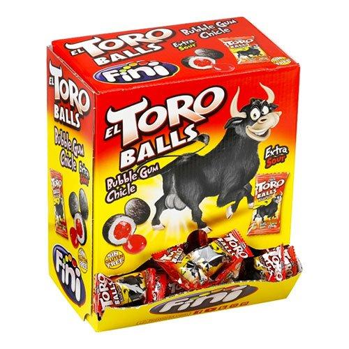 El Toro Balls Bubble Gum - 200-pack