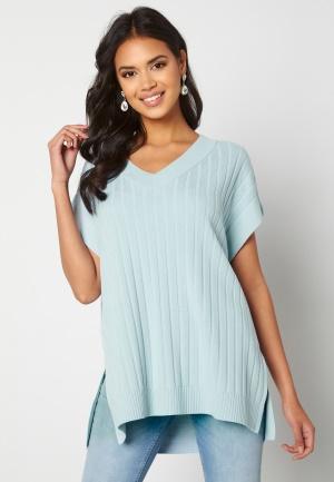 ONLY Tessa S/L Vest Cashmere Blue S
