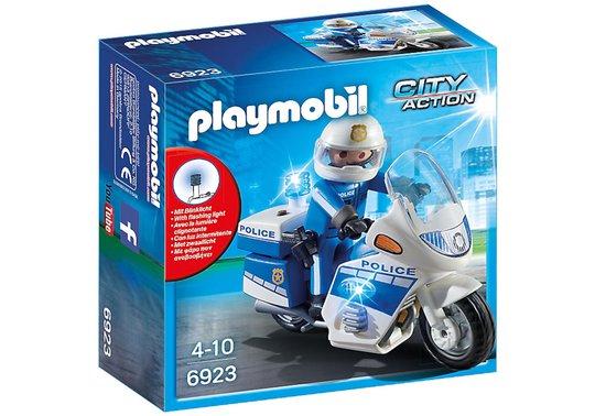 Playmobil 6923 Politimotorsykkel med LED-lys