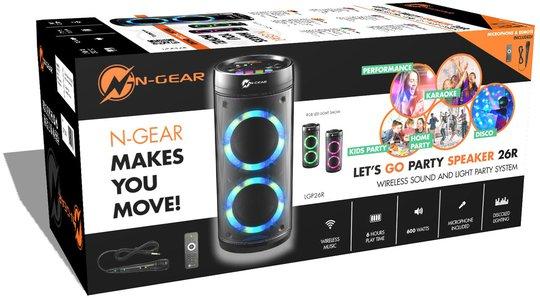 N-Gear Høyttaler Let's Go Party Speaker 25R