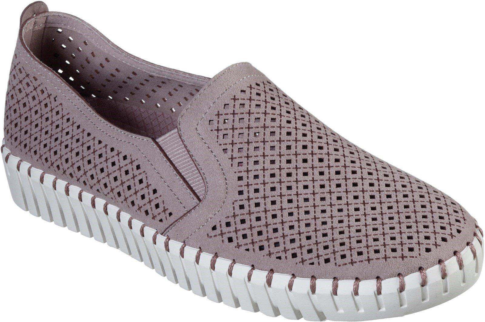 Skechers Women's Sepulveda Blvd Slip On Loafer Various Colours 30324 - Lilac 3