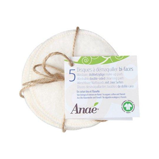Anaé Tvättbara Rengöringspads Dubbelsidiga, 5-pack