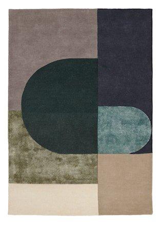 Vilja Teppe Grønn 170x240 cm