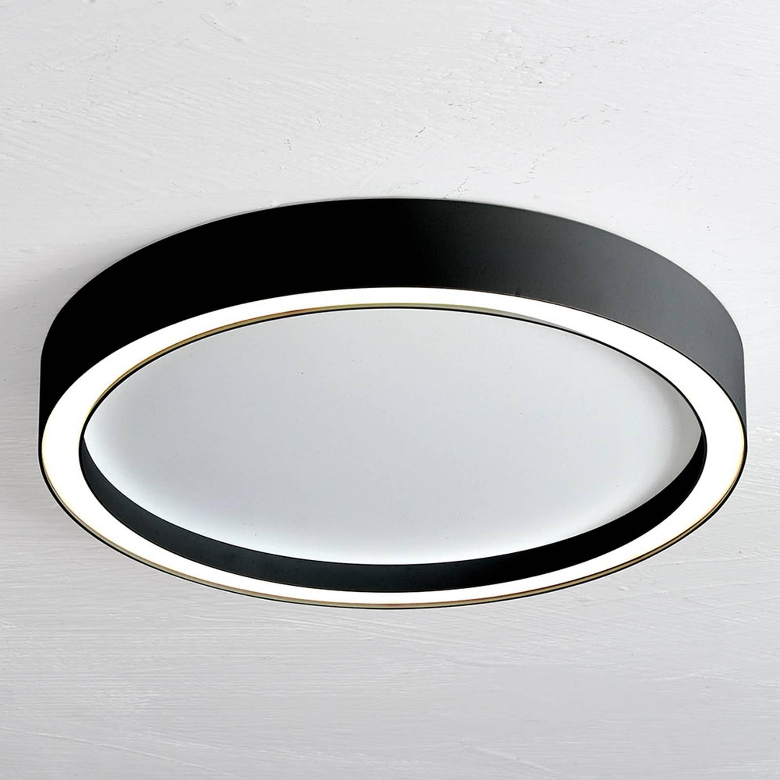 Bopp Aura LED-taklampe med Ø 55cm hvit/svart