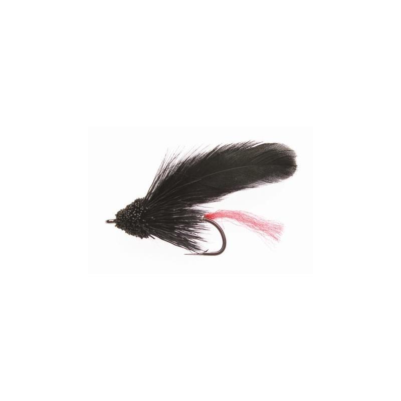 Muddler Minnow Black #10 Kjøp 12 fluer få gratis flueboks