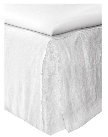 Mira loose fit sengekappe – White, 160x220x42