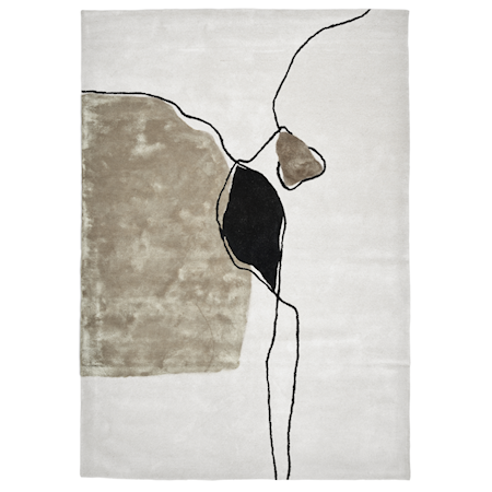 Abstract Ivory Matta 200x300 cm