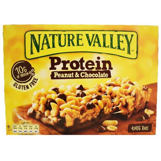 Proteiinipatukoita Peanut & Chocolate 4kpl - 40% alennus
