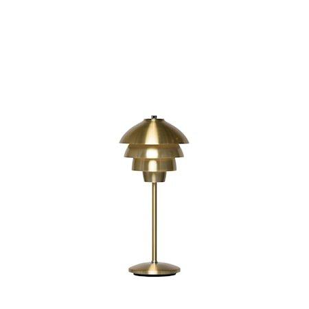 Valencia Bordlampe Messing LED 18 cm