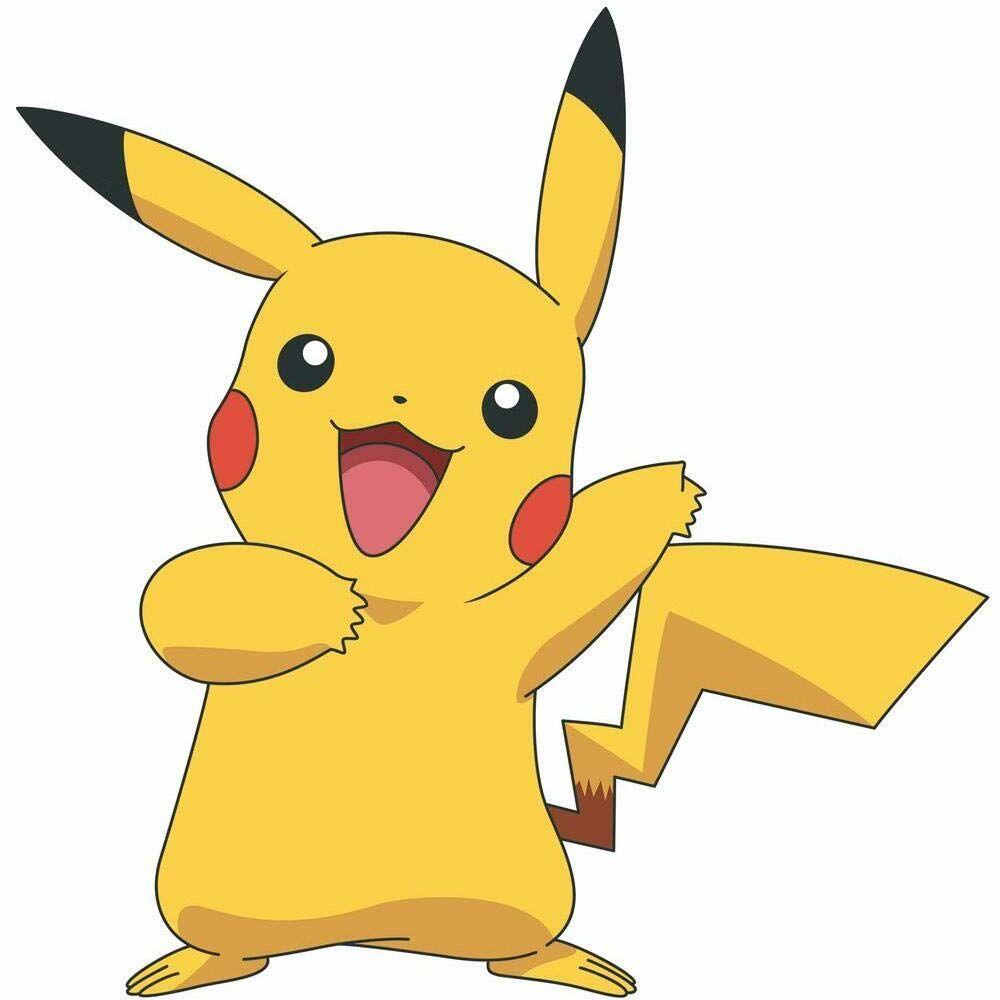 RoomMates Sisustustarrat Pokémon Pikachu