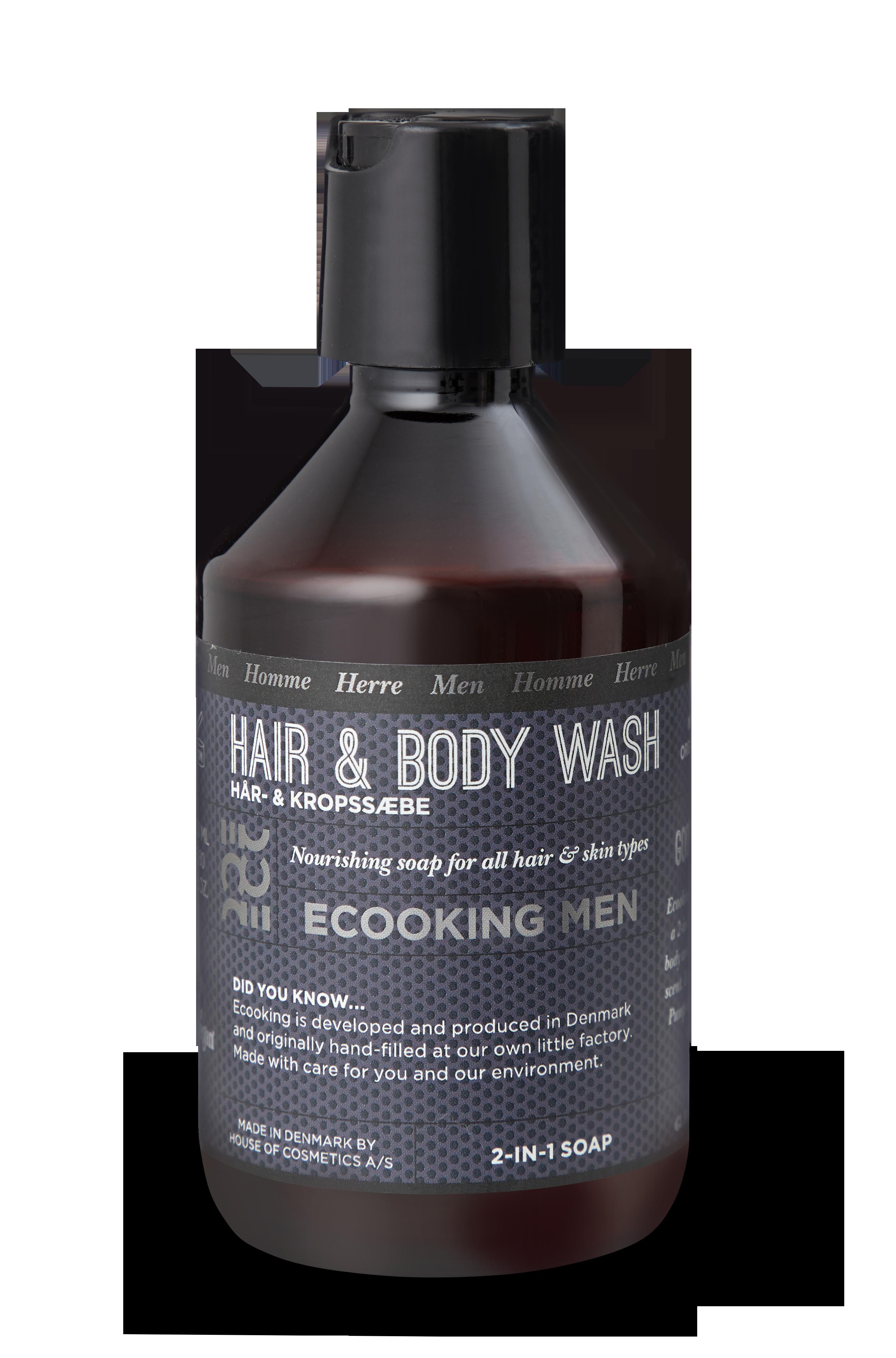 Ecooking - Men Hair & Body Shampoo 250 ml