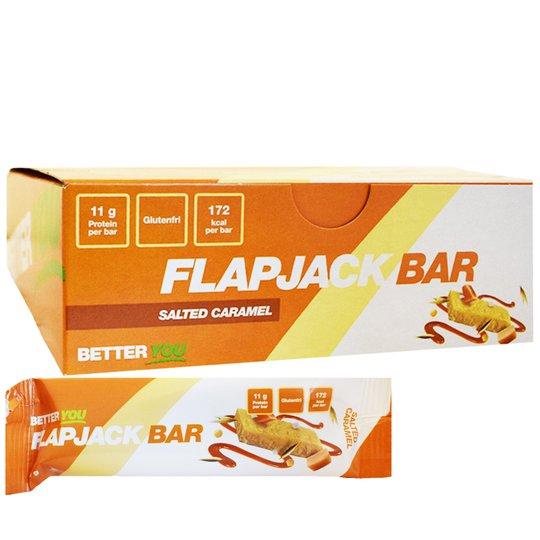 "Hel Låda Proteinbars ""Salted Caramel"" 12 x 50g - 80% rabatt"