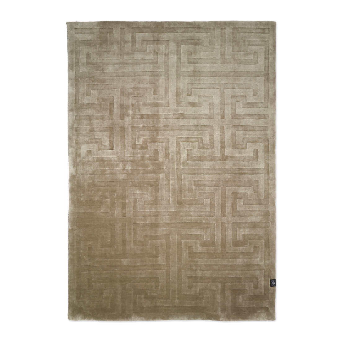 Viskosmatta KEY taupe 250 x 350 cm, Classic Collection
