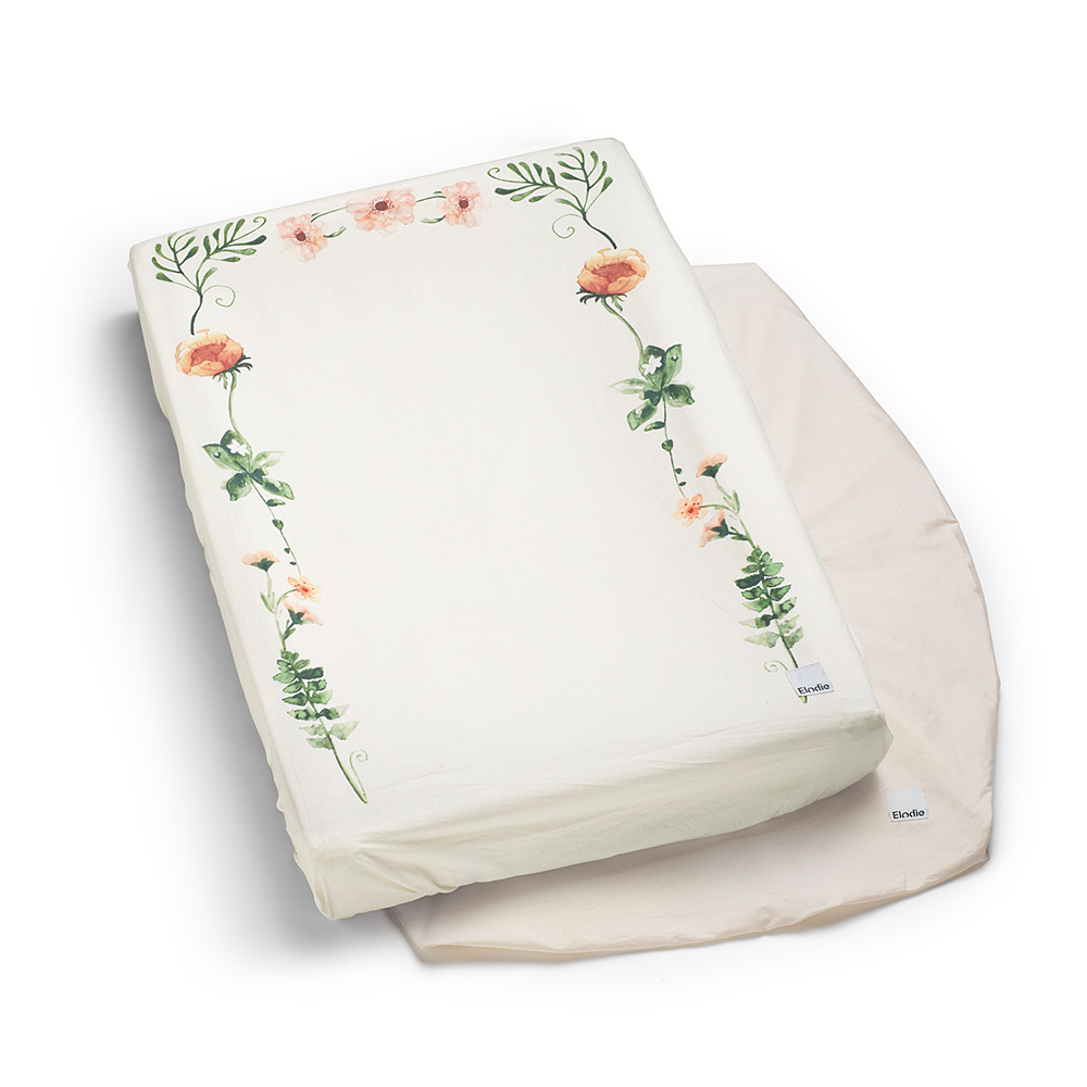 Changing Pad Cover - Meadow Flower