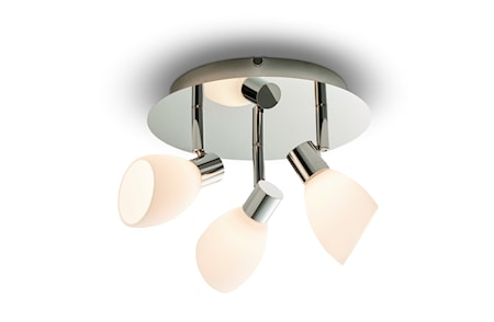 Cut Spot Krom LED 3 lampor