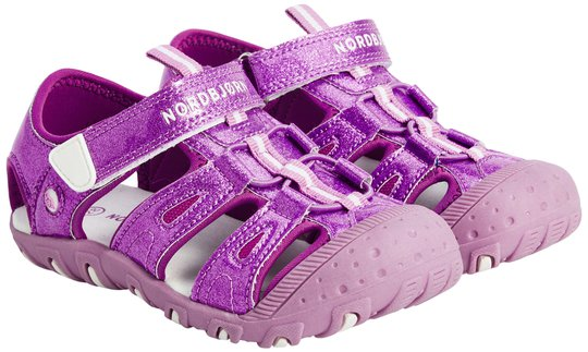 Nordbjørn Adventure Sandal, Glitter Violet, 23