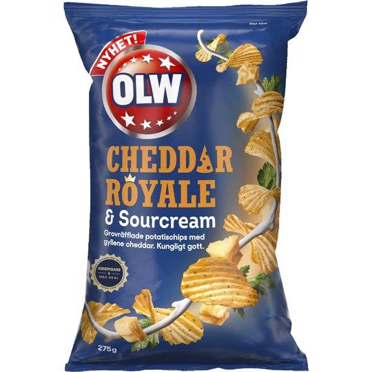 Cheddar Royale & Sourcream - 23% rabatt