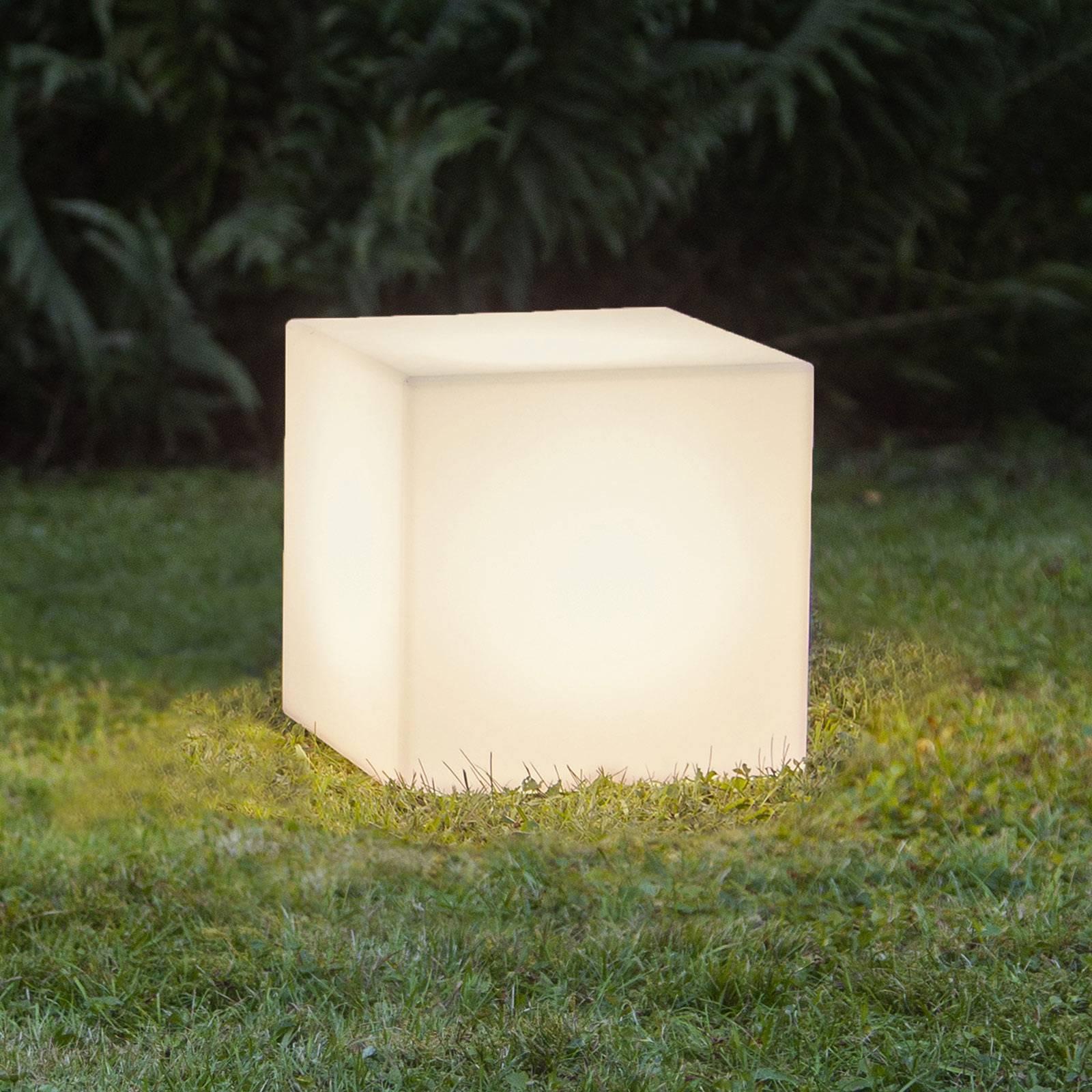 Terassivalaisin Gardenlight, kuutio, 30 cm