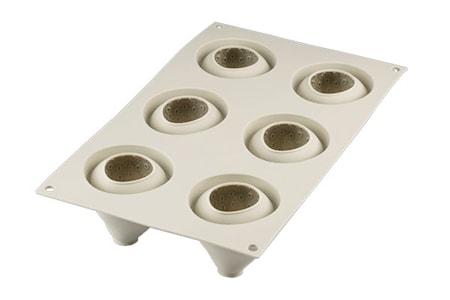 Design 3D Silikonform Fragole E Panna 59x61 mm Ljusgrå
