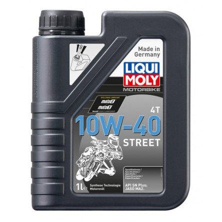 Moottoriöljy LIQUI MOLY MOTORBIKE 4T 10W40 1L