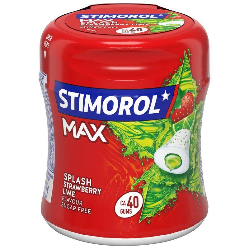 Tuggummi Max Jordgubb & Lime - 42% rabatt