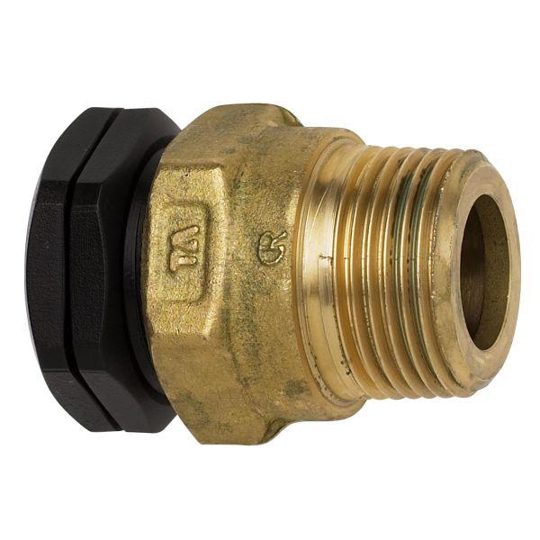 TA 3004012022 PEM-kobling metall, rett, plast-utv gg 16 x G15