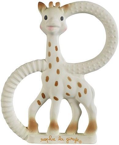 Sophie the Giraffe So Pure Dubbel Mjuk Bitring