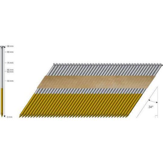MFT A4 Haponkestävä naula 34° 2,8x63mm