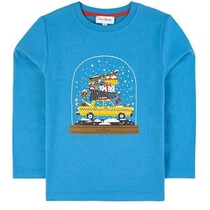 The Marc Jacobs Christmas Taxi Tröja Blå 3 år